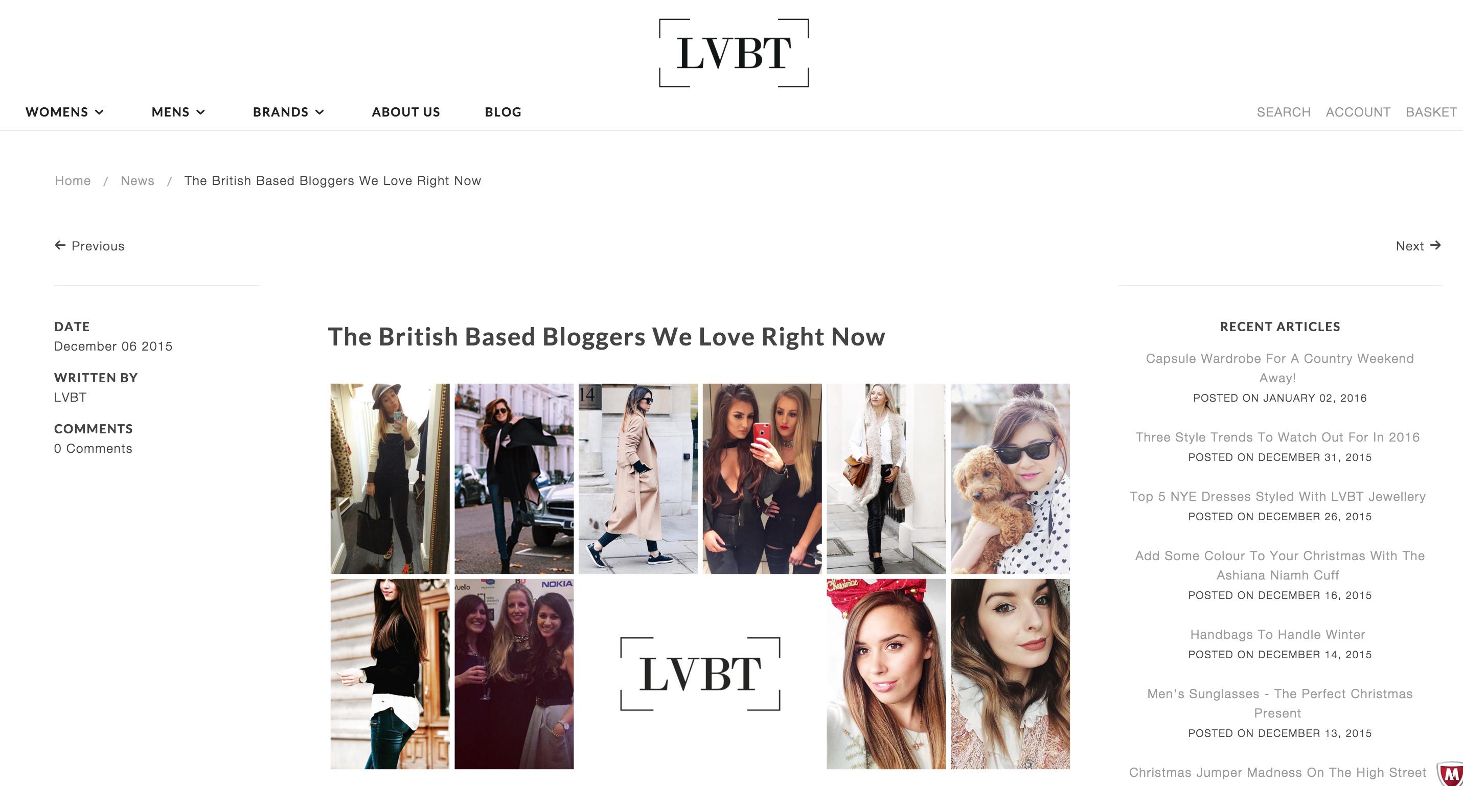 lvbt top bloggers