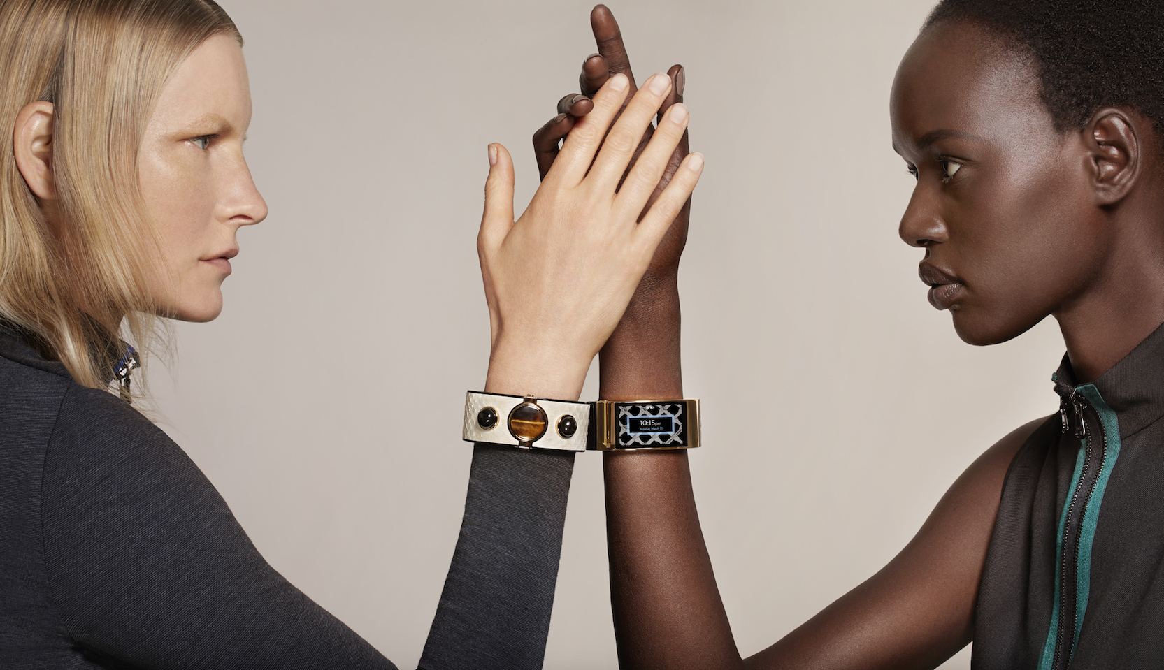 interlaced wearable technology