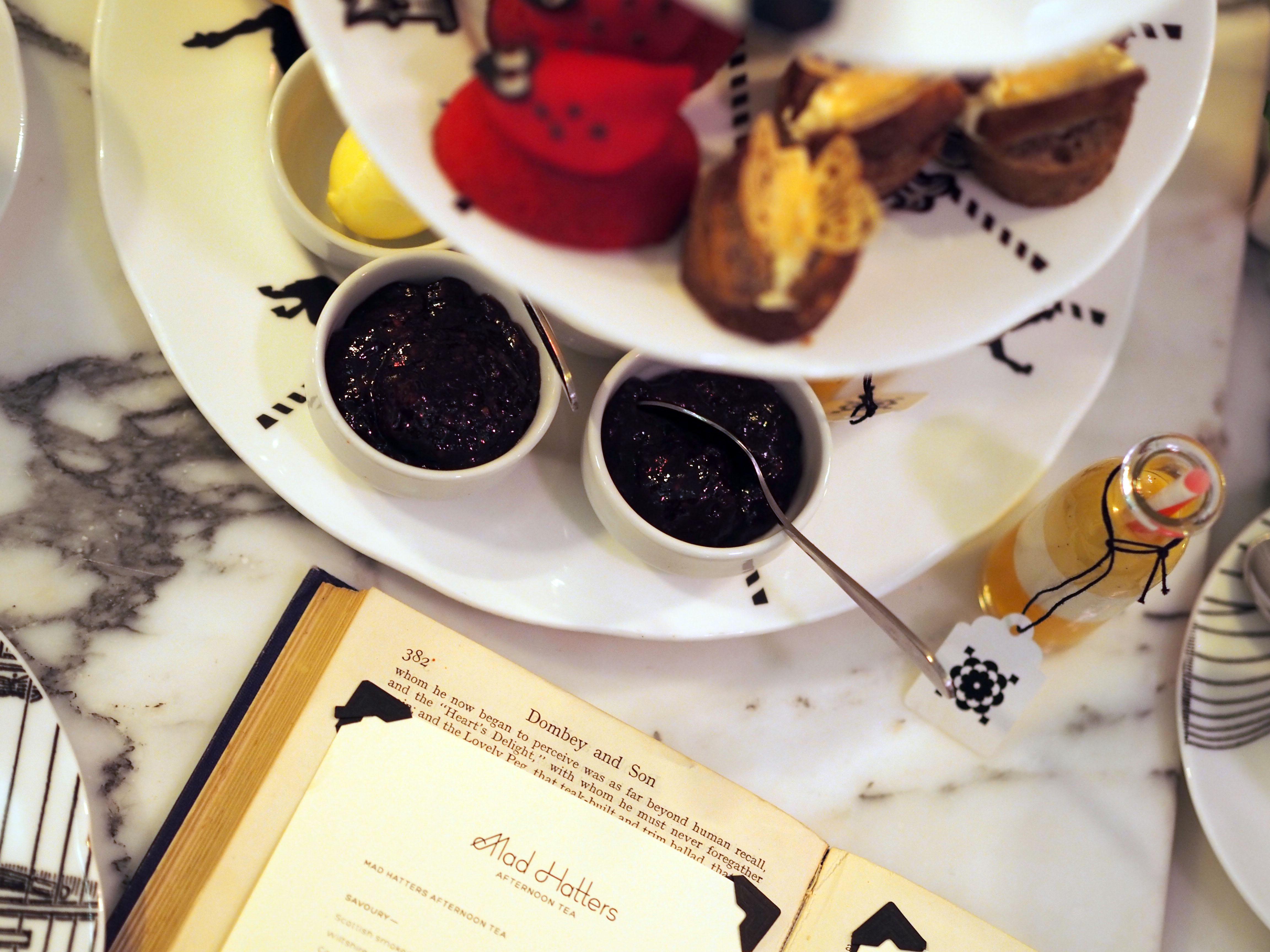 afternoon tea mad hatter sanderson hotel