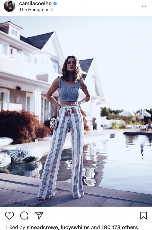 Camilla Coelho Instagram - The Striped Boho Pants
