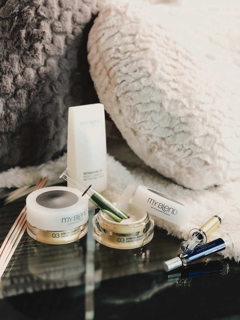 winter skincare routine myblend personalised - clarins