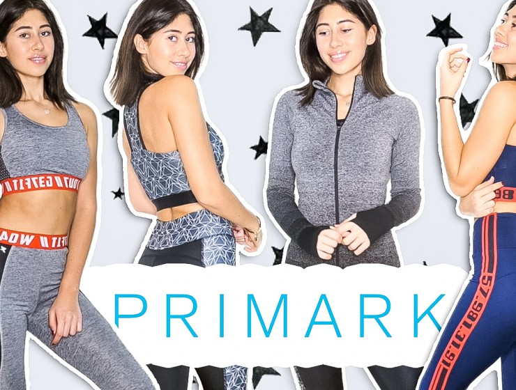 NEW PRIMARK ACTIVEWEAR COLLECTION HAUL